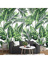 cheap -Tropical Forest Wallpaper Self-Adhesive Removable Peel and Stick Wallpaper Decorative Wall Covering for Wall Surface Cover Easy to Apply