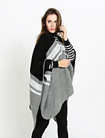 cheap -Sleeveless Ladies / Shawls Imitation Cashmere Party / Party / Evening Shawl & Wrap / Women's Wrap With Stripe