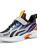 cheap -Boys' Girls' Trainers Athletic Shoes Comfort PU Little Kids(4-7ys) Big Kids(7years +) Daily Walking Shoes Black Orange Gray Spring Fall