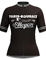 cheap -Women's Short Sleeve Cycling Jersey Black Stripes Bike Top Mountain Bike MTB Road Bike Cycling Breathable Quick Dry Sports Clothing Apparel / Stretchy / Athleisure