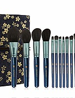 cheap -ZKHZS Something New indigo 12 new full set of beginner makeup brush makeup brush kit (Size : A)