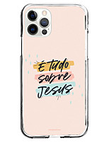 cheap -phrase fashion case for apple iphone 12 11 se2020 unique design protective jesus case shockproof back cover tpu case for iphone 12 pro max xr xs max iphone 8 plus 7
