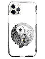 cheap -owl fashion celebrity hot style case for apple iphone 12 iphone 11 iphone 12 pro max unique design protective case shockproof back cover tpu