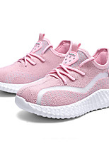 cheap -Boys' Girls' Trainers Athletic Shoes Comfort Elastic Fabric Little Kids(4-7ys) Big Kids(7years +) Daily Walking Shoes Black Pink Spring Fall