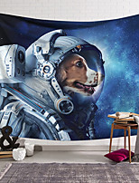 cheap -Wall Tapestry Art Decor Blanket Curtain Hanging Home Bedroom Living Room Decoration Polyester Spacesuit Dog