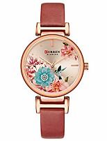 cheap -quartz watches for women's  original brand flower butterfly style leather waterproof girls wrist watch