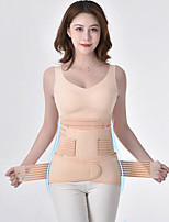 cheap -postpartum tummy tuck belt set for large girdle for pregnant women crescent pelvis belt breathable binding belt shapewear