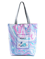 cheap -Women's Bags Polyester Top Handle Bag Zipper Floral Print 2021 Daily Date White Blue Blushing Pink Sky Blue