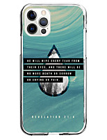 cheap -slogan water drop fashion case for apple iphone 12 11 se2020 unique design protective case shockproof back cover tpu