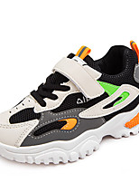 cheap -Boys' Girls' Trainers Athletic Shoes Comfort Mesh Little Kids(4-7ys) Big Kids(7years +) Daily Running Shoes Walking Shoes Black Pink Spring Fall / Color Block