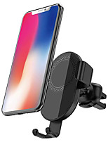 cheap -CW9 10W 7.5W 5W 360 Rotation Qi Wireless Charger Car Phone Holder Automatic Clamping for iPhone 11 Pro XR X for iPhone 12 12 Mini 12 Pro For Samsung Galaxy Note 20 Xiaomi Mi9 Mi10 Huawei Mate 40 Pro