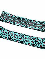 cheap -Yoga Resistance Band Elastic Anti-slip Leopard Printed Exercise Band for Leg Hip Training