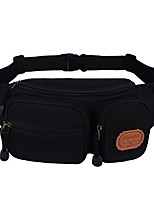 cheap -fanny pack satchel city safety travel waist pack with durable canvas, multiple pockets and large capacity sports fanny pack for hiking, biking, camping, jogging, men, women
