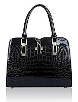 cheap -women crocodile pattern handbags patent leather tote shoulder bags crossbody bags
