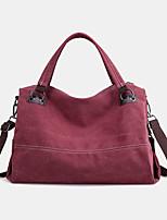 cheap -women casual canvas handbag multi-carry crossbody bag