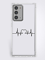 cheap -heart fashion case for Samsung Galaxy S21 20 plus s20 ultra Note 20 10 S20 FE design protective case shockproof back cover tpu