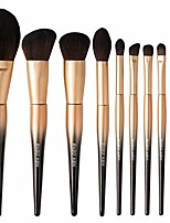 cheap -Makeup Brush Set Eyeshadow Brush Set Makeup Tools Makeup Beginner Brushes Complete Set (Color : Gold)