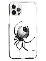 cheap -spider fashion case for apple iphone 12 iphone 11 iphone 12 pro max unique design protective case shockproof back cover tpu