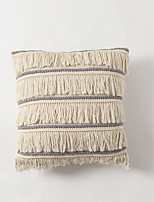 cheap -Cushion Cover Northern Europe ins Style Cotton and Linen Tassel Pillow Case Cover Living Room Bedroom Sofa Cushion Cover Modern Sample Room Cushion Cover