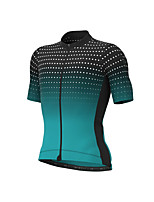 cheap -Men's Long Sleeve Downhill Jersey Orange Green Sky Blue Bike Jersey Sports Clothing Apparel