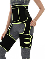 cheap -Back Support / Lumbar Support Belt Sweat Waist Trimmer Sauna Belt Sports Neoprene Gym Workout Exercise & Fitness Portable Adjustable Stretchy Weight Loss Tummy Fat Burner Protection For Women
