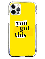 cheap -you got this phrase fashion case for apple iphone 12 iphone 11 iphone 12 pro max unique design protective case shockproof back cover tpu instagram style case