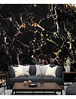 cheap -Black Marble Wallpaper Self-Adhesive Removable Peel and Stick Wallpaper Decorative Wall Covering for Wall Surface Cover Easy to Apply