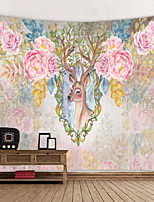 cheap -Wall Tapestry Art Decor Blanket Curtain Hanging Home Bedroom Living Room Decoration Flower Deer