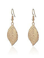 cheap -Dangle Earring for Women,Leaf Drop Earring with Girls Rose Gold or Silver Plated Earring Stainless Steel Earring (Gold Plated)
