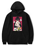 cheap -Inspired by Toilet Bound Hanako kun Hanako kun Cosplay Costume Hoodie Polyester / Cotton Blend Graphic Prints Printing Hoodie For Men's / Women's