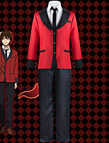 cheap -Inspired by Kakegurui / Compulsive Gambler Ryota Suzui Anime Cosplay Costumes Japanese Cosplay Suits School Uniforms Coat Blouse Pants For Men's / Tie