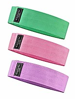 cheap -Fabric Resistance Bands for Women and Men sets,Pilates,Yoga and Body Building,Home Exercise Loop Bands for Hips, Legs and Whole Body Work Out, Non Slip Fitness Booty Bands with(3 Levels)
