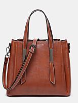 cheap -women casual faxu leather handbag shoulder bag