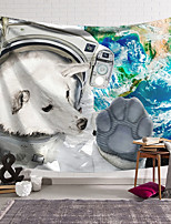 cheap -Wall Tapestry Art Decor Blanket Curtain Hanging Home Bedroom Living Room Decoration Polyester Animal Spacesuit