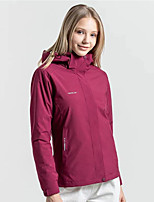 cheap -Women's Men's Hiking Softshell Jacket Hoodie Jacket Hiking Windbreaker Autumn / Fall Spring Summer Outdoor Quick Dry Lightweight Breathable Sweat wicking Jacket Top Hunting Fishing Climbing Male
