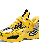 cheap -Boys' Trainers Athletic Shoes Comfort PU Little Kids(4-7ys) Big Kids(7years +) Daily Walking Shoes Yellow Red Green Spring Fall