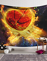 cheap -wall tapestry art decor blanket curtain hanging home bedroom living room decoration love basketball polyester