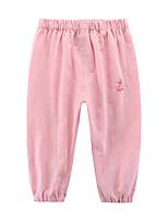cheap -Toddler Girls' Pants Geometric Blue Red Blushing Pink
