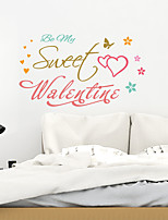 cheap -sweet valentine's day remove stickers from your home decoration background for valentine's day
