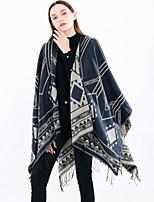 cheap -Sleeveless Coats / Jackets / Shawls Orlon Special Occasion / Party / Evening Shawl & Wrap / Women's Wrap With Printing / Tassel