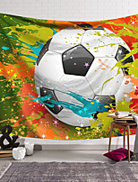 cheap -Football Painting Style Wall Tapestry Art Decor Blanket Curtain Hanging Home Bedroom Living Room Decoration Polyester Colorful