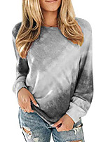 cheap -womens lightweight long sleeve tunic sweatshirt tops pullover
