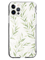 cheap -flowers and plants pattern novelty instagram style case for apple iphone 12 iphone 11 iphone 12 pro max unique design protective case shockproof back cover tpu celebrity hot style