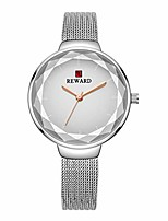 cheap -fashion quartz women wrist watch with multilateral glass surface,simple,stylish,waterproof,stainless