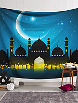 cheap -Wall Tapestry Art Decor Blanket Curtain Hanging Home Bedroom Living Room Decoration Castle Moon
