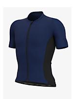 cheap -Men's Long Sleeve Downhill Jersey Yellow Green Sky Blue Bike Jersey Sports Clothing Apparel