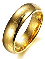 cheap -pure tungsten carbide silver lord of the rings with bible engaved couple ring wedding band, men, size x