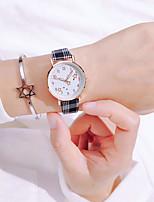 cheap -Women's Quartz Watches Quartz Stylish Fashion Noctilucent Analog White Black Blushing Pink / One Year