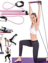 cheap -Ultimate Resistance Bands Set Physical Therapy Keep Fit Exercise Bands with Handles, Door Anchor (Sit-up Aid Blue)