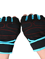 cheap -Workout Gloves Weight Lifting Gloves Sports Microfiber Gym Workout Exercise & Fitness Weightlifting Portable Non Toxic Finger Exerciser Protection Athletic Trainers For Men Women